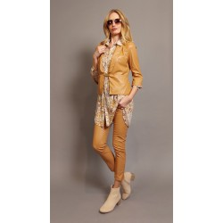 Completo similpelle giacca AM 2112 + pantalone AM 2113 - Ultimi pezzi!